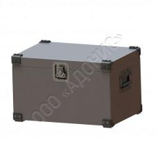 Ящик металлический на заклёпках с врезной фурнитурой