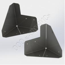 Угольник трёхгранный ГОСТ 9396-88