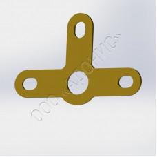 Лепестки трёхсторонние ОСТ 92-0521-70 Исп.1