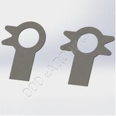 Шайбы стопорные с лапкой ГОСТ 13463-77