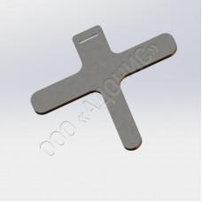 Бирка маркировочная металлическая ОСТ 1 10727-79