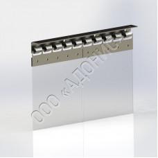 Гребёнка для ПВХ завес (толщина 1,5 мм)