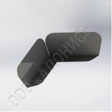 Угольник трёхгранный фасонный ГОСТ 9396-88
