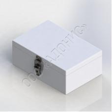Ящик (футляр) металлический для хранения