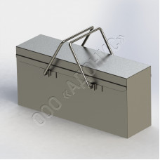 Ящик металлический инструментальный