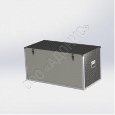 Ящик рифлёный (алюминий)